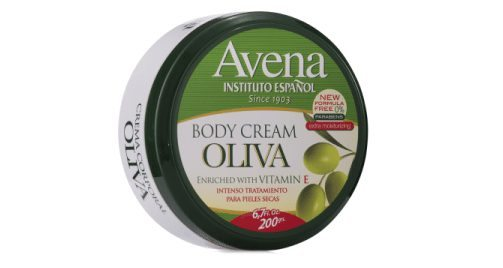 crema corporal aceite oliva