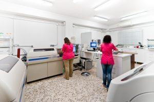 Análisis de sangre en farmacia